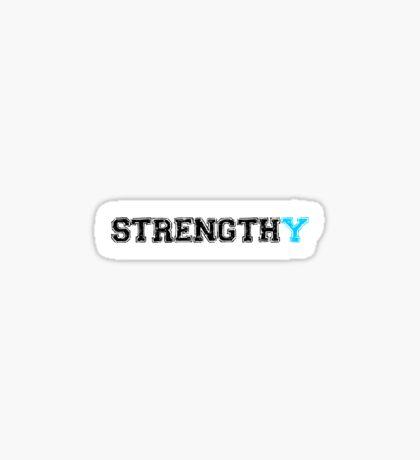 Strengthy T-shirt Sticker
