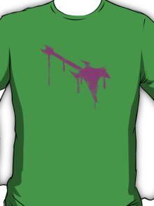 Pink Graffiti Guitar T-Shirt