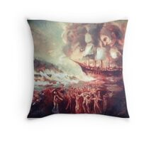 Songs from the Amphitrite. Throw Pillow