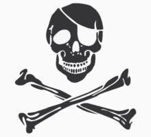 Skull and Crossbones by rawrclothing