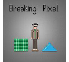 Breaking pixel Photographic Print