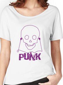Punk Music Skull Women's Relaxed Fit T-Shirt