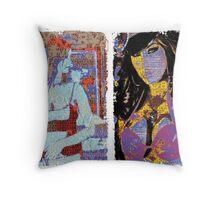 Incarnata Diptych #22 Throw Pillow