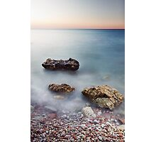 Sirolo Beach, Italy Photographic Print