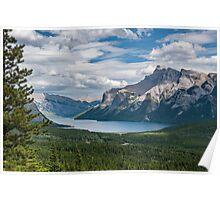 Lake Minnewanka View Poster