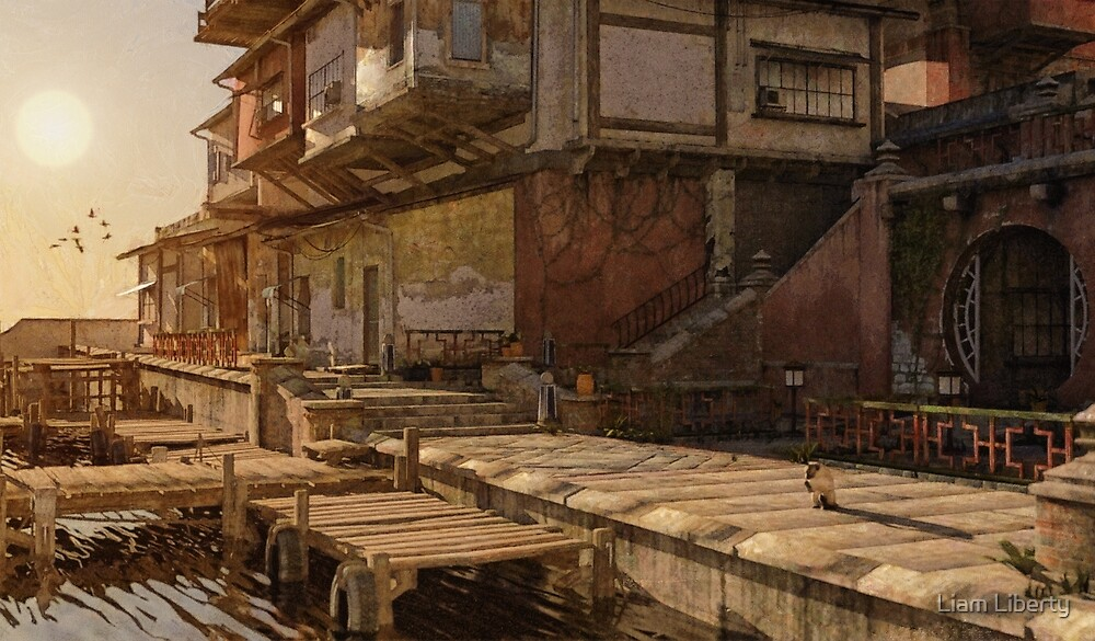 Streets of Asia by Liam Liberty