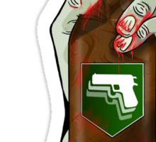 mule kick Sticker