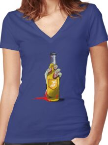 Stamin-Up Women's Fitted V-Neck T-Shirt