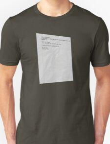 Moss' Emergency - The IT Crowd T-Shirt