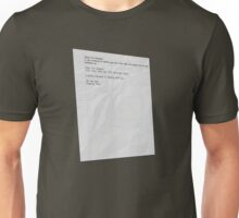 Moss' Emergency - The IT Crowd Unisex T-Shirt