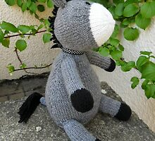 Knitted Donkey by Dionne Meade