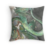 Burn the Ankle Biters Throw Pillow