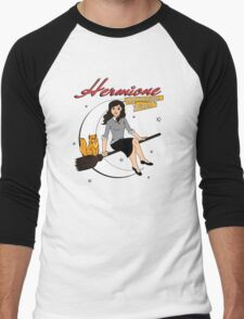 Hermione the Teenage Witch Men's Baseball ¾ T-Shirt