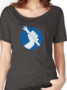 Panic, But Don't Blink Women's Relaxed Fit T-Shirt