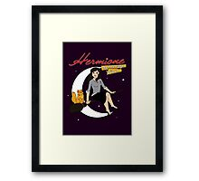 Hermione the Teenage Witch Framed Print
