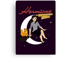 Hermione the Teenage Witch Canvas Print