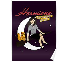 Hermione the Teenage Witch Poster