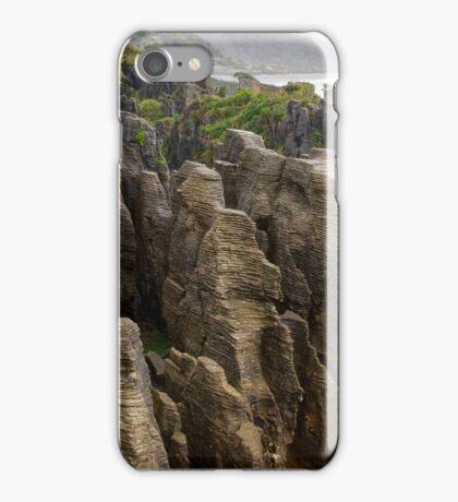 Pancake Rocks 1 iPhone Case/Skin