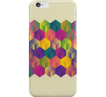 A Grid of Cubes iPhone Case/Skin