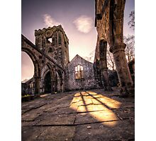 Church Ruins at Heptonstall Photographic Print