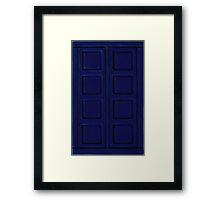 New Blue Book Framed Print
