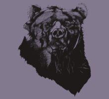 Bear Sketching Kids Tee