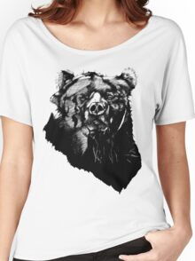 Bear Sketching Women's Relaxed Fit T-Shirt