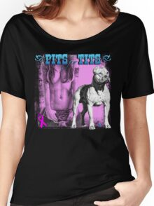 Pits for Tits Women's Relaxed Fit T-Shirt