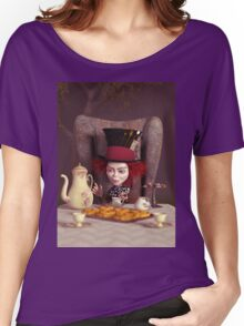 The Hatter - Tea Time Women's Relaxed Fit T-Shirt