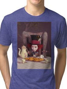 The Hatter - Tea Time Tri-blend T-Shirt