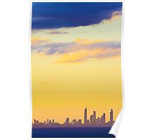 Surfer's Paradise Sunset Poster