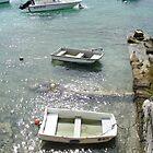 Small Boats in Bermuda by islandphotoguy