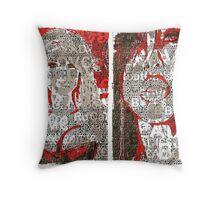 Incarnata Diptych #29 Throw Pillow