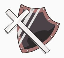 Cross and Shield Graphic by Drayton-Dragon