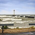 Wind and Waves at the Point by Mikell Herrick