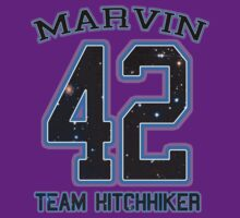 TEAM HITCHHIKER _Marvin by shaydeychic