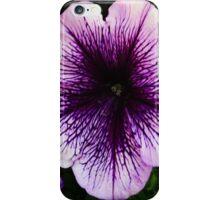 The Petunia's Lavender Veins iPhone Case/Skin
