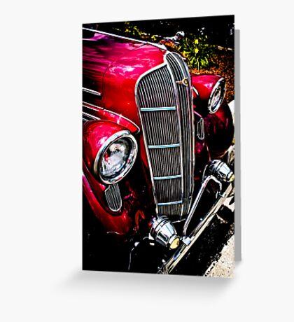 Classic Dodge Brothers Sedan Greeting Card