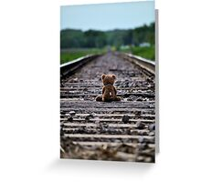 Nothing ahead…. Nothing behind… just here and now. Greeting Card