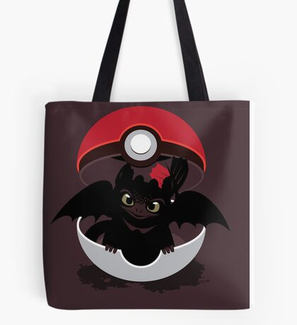 How To Catch Your Dragon Tote Bag