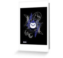 Mawaru PenguinDrum T-shirt Greeting Card