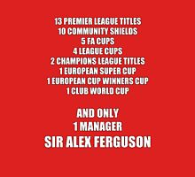 Alex Ferguson Titles Unisex T-Shirt