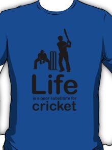 Cricket v Life - Marble T-Shirt