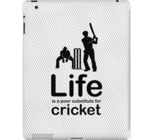 Cricket v Life - Marble iPad Case/Skin