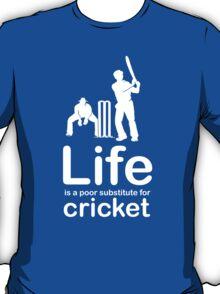 Cricket v Life - Carbon Fibre Finish T-Shirt