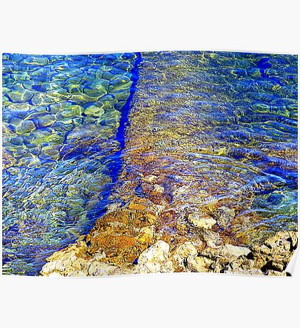 The Water Around Cap Ferrat Poster