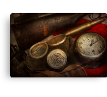 Steampunk - War - Remembering the war Canvas Print