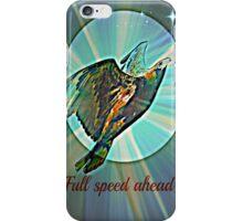 full speed ahead iPhone Case/Skin