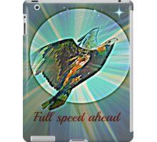 full speed ahead iPad Case/Skin