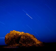 Star Trails at Currumbin by Jack McClane